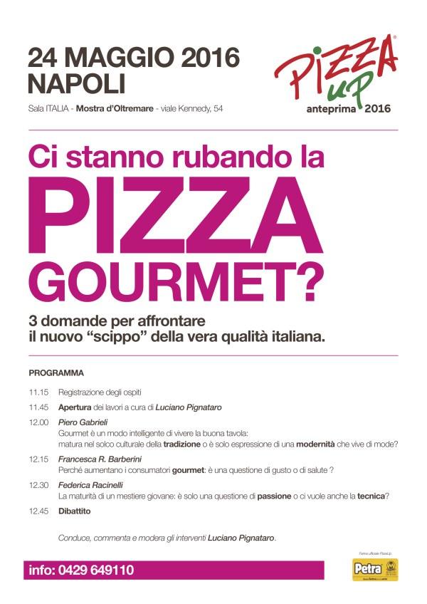 Anteprima PizzaUp 2016 a Napoli programma