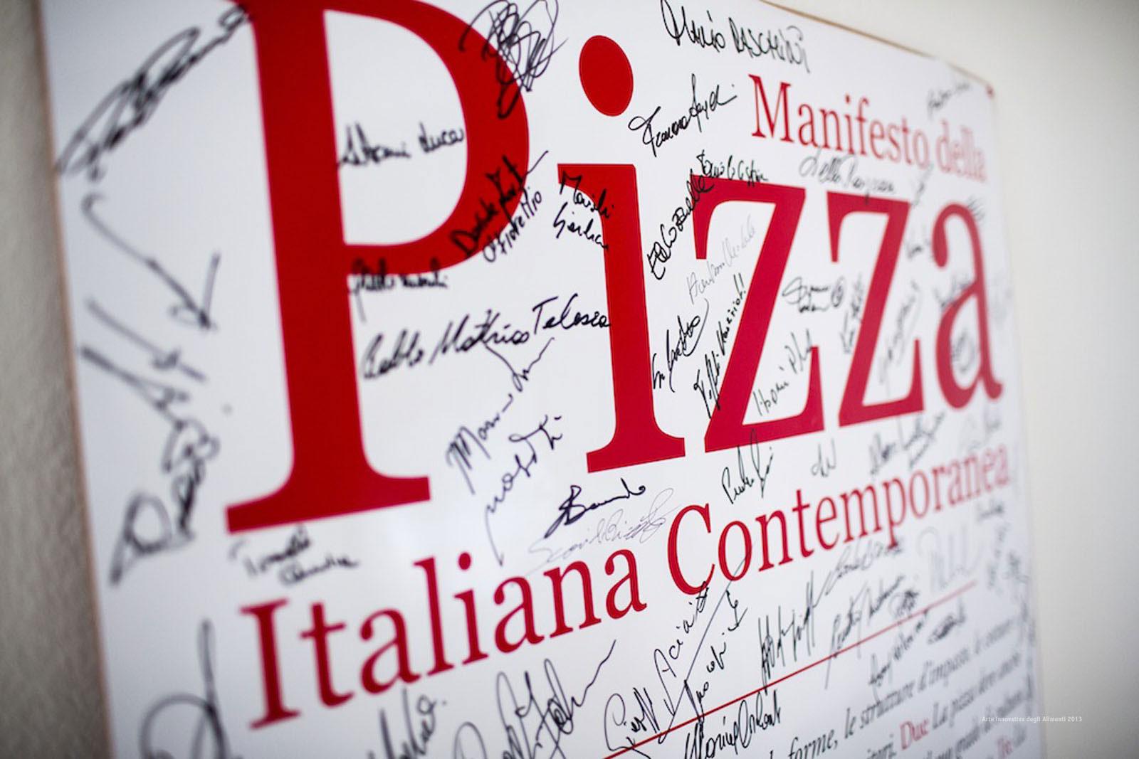 Manifesta della Pizza Italiana Contemporanea